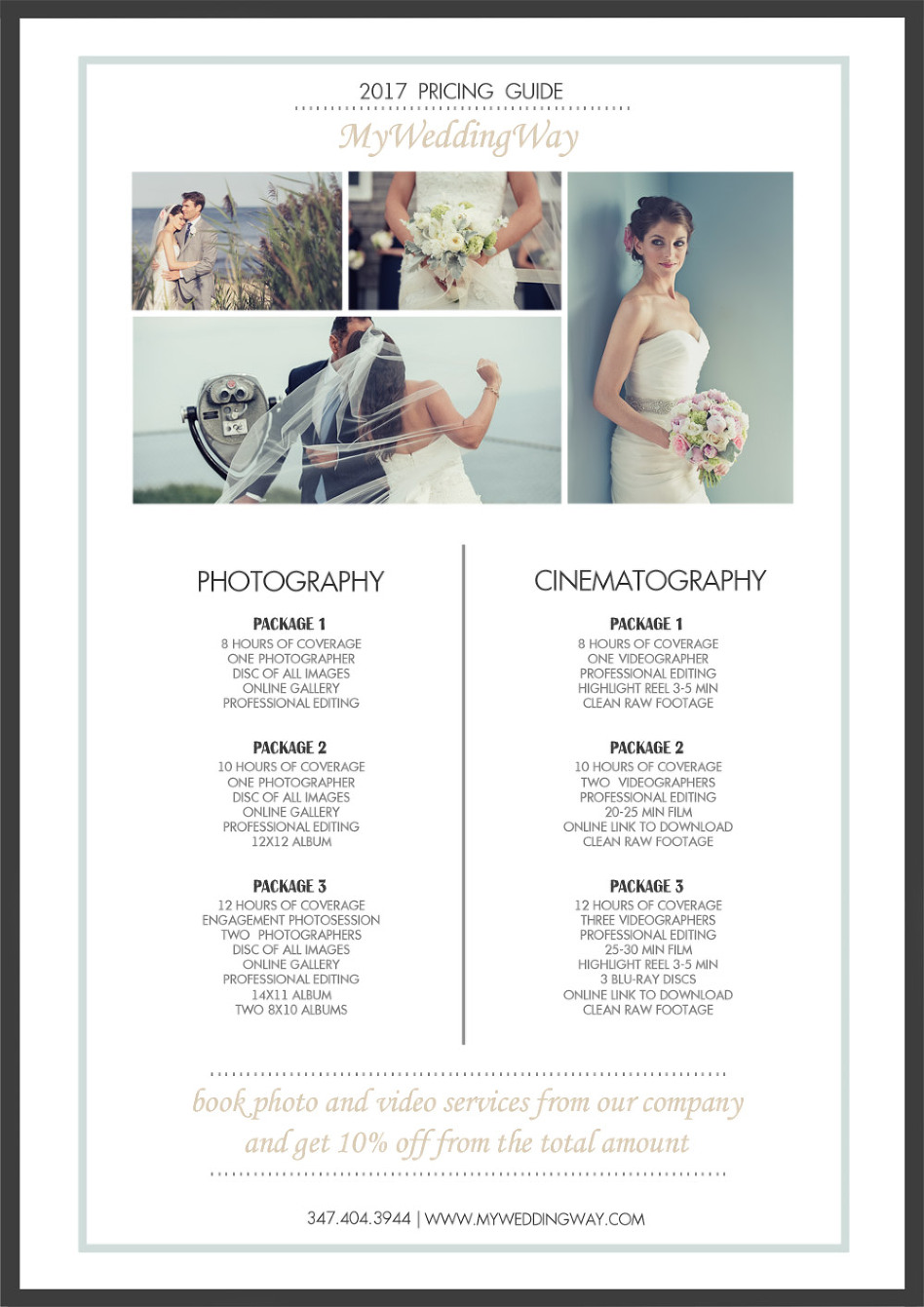 Wedding Packages New York » MY WEDDING WAY